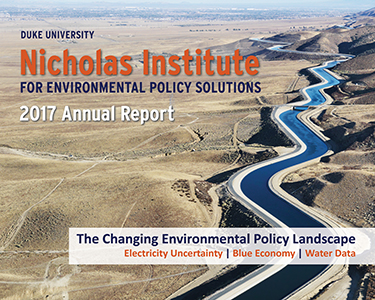 Nicholas Institute 2017 Annual Report