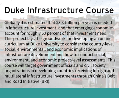 Duke Infrastructure Course