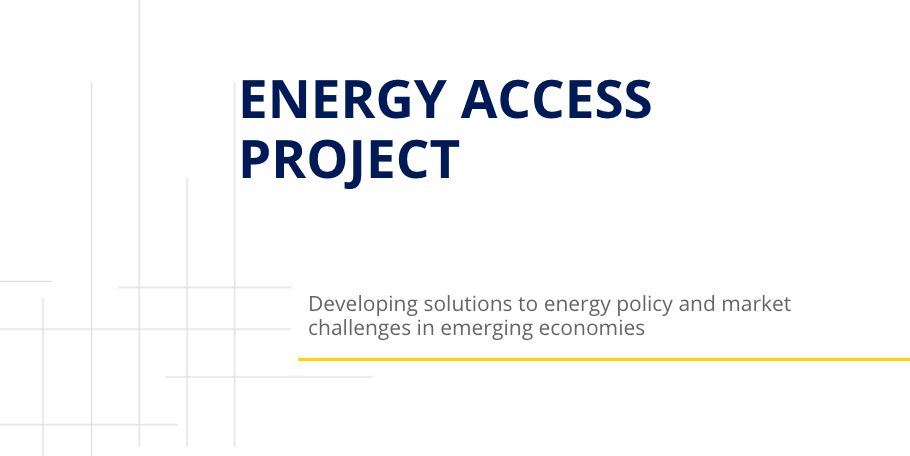 Energy Access Project Website
