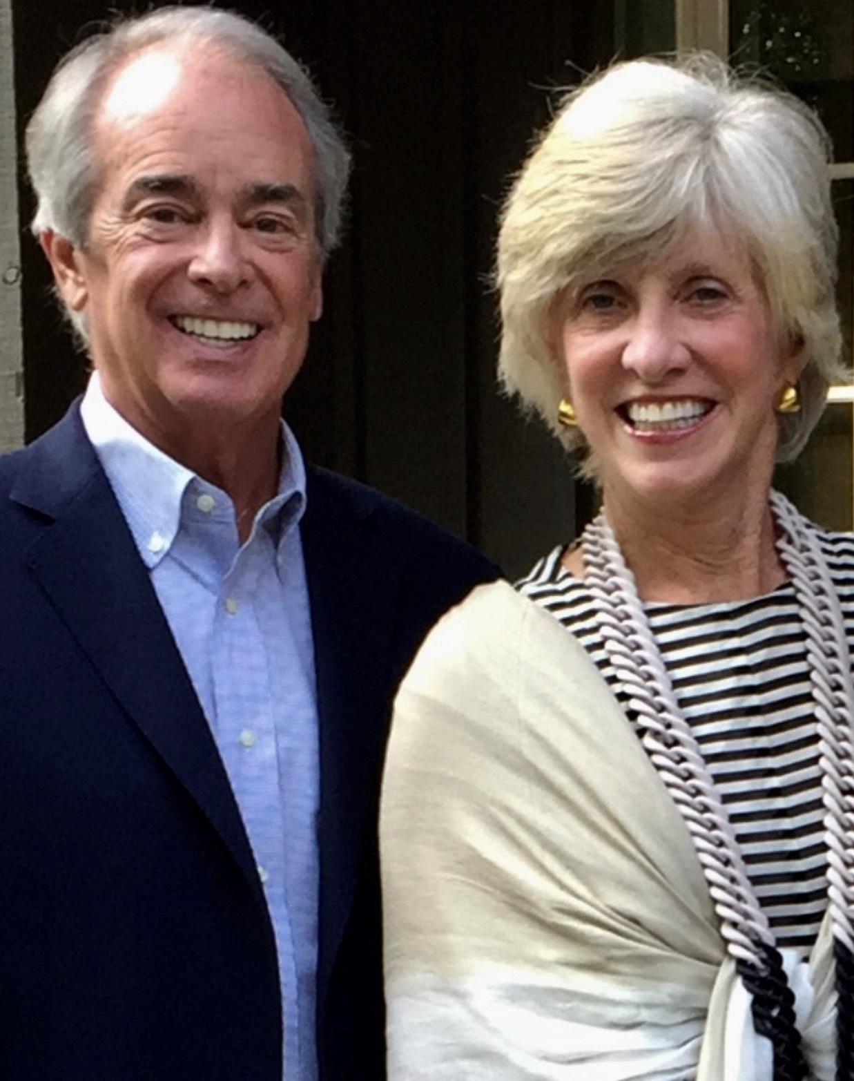 Jim and MA Rogers Portrait