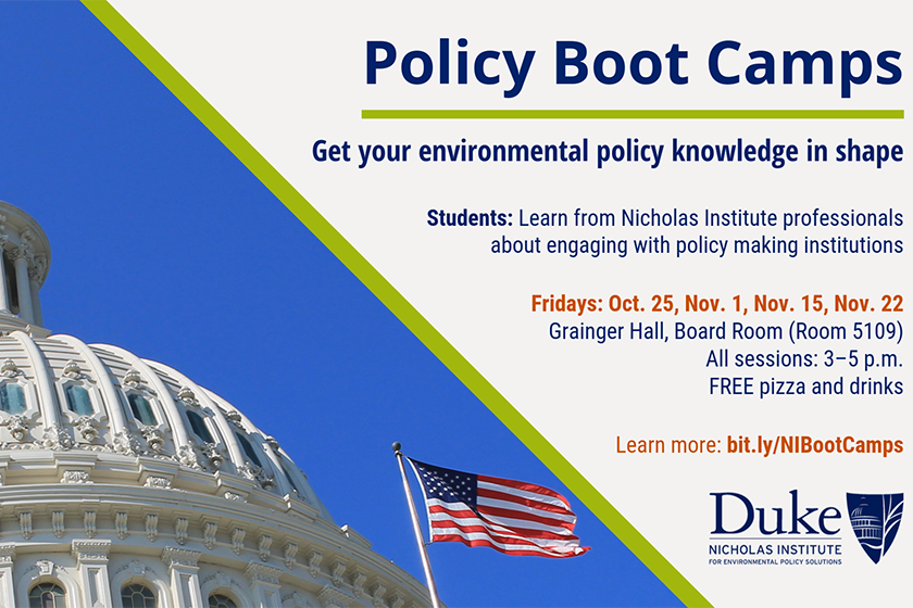 Policy Boot Camps slide