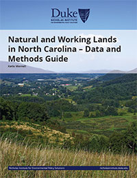 Natural and Working Lands Data and Methods