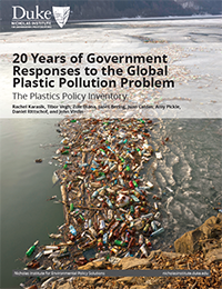 20 Years of Government Responses to the Global Plastic Pollution Problem Cover