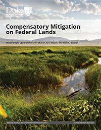 Compensatory Mitigation on Federal Lands Cover