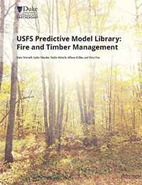 USFS Predictive Model Library: Fire and Timber Management Cover