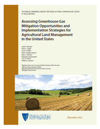 Assessing Greenhouse Gas Mitigation Opportunities and Implementation Strategies for Agricultural Land Management in the United States