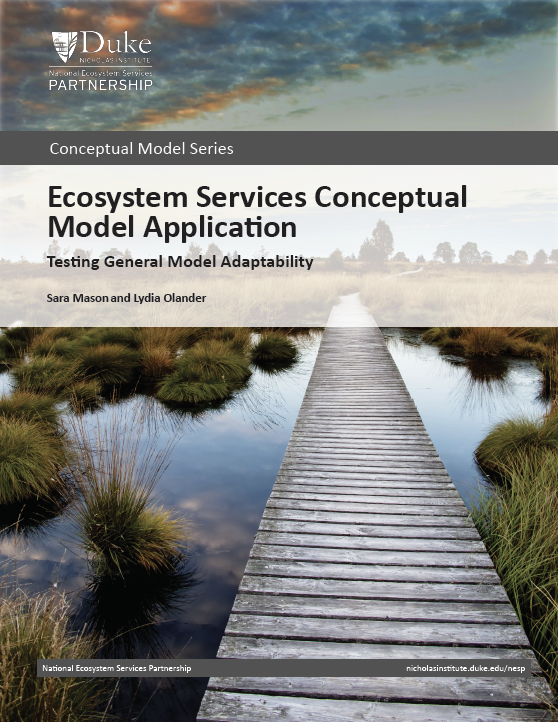 Ecosystem Services Conceptual Model Application: Testing General Model Adaptability
