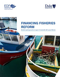 Financing Fisheries Reform: Blended Capital Approaches in Support of Sustainable Wild-Capture Fisheries