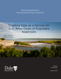 Creating Data as a Service for U.S. Army Corps of Engineers Reservoirs