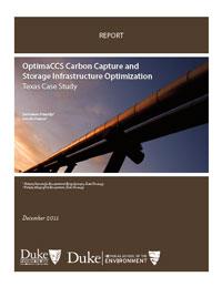 OptimaCCS Carbon Capture and Storage Infrastructure Optimization: Texas Case Study