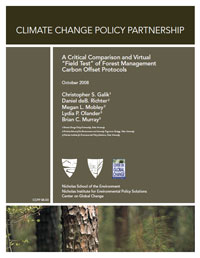 "A Critical Comparison and Virtual ""Field Test"" of Forest Management Carbon Offset Protocols"