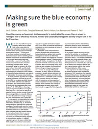 Making Sure the Blue Economy is Green