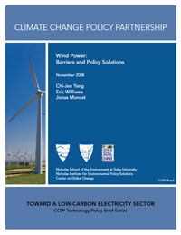 Wind Power: Barriers and Policy Solutions