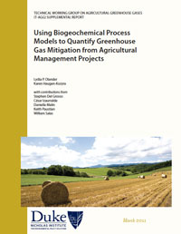 Using Biogeochemical Process Models to Quantify Greenhouse Gas Mitigation from Agricultural Management Projects