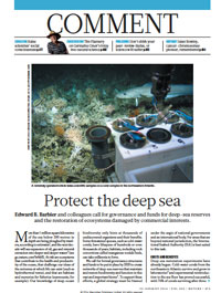 Ecology: Protect the Deep Sea