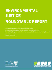 Environmental Justice Roundtable Report