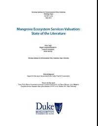 Mangrove Ecosystem Services Valuation: State of the Literature