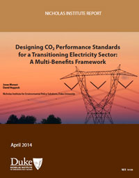 Designing CO2 Performance Standards for a Transitioning Electricity Sector: A Multi-Benefits Framework