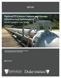 OptimaCCS Carbon Capture and Storage Infrastructure Optimization: North Carolina Case Study