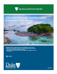 State of the Science on Coastal Blue Carbon: A Summary for Policy Makers