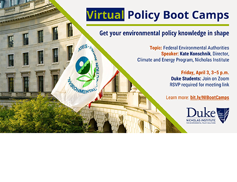 Virtual Policy Boot Camp: Federal Environmental Authorities