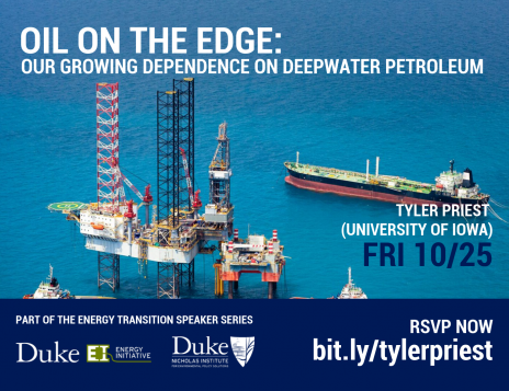Oil on the Edge: Our Growing Dependence on Deepwater Petroleum
