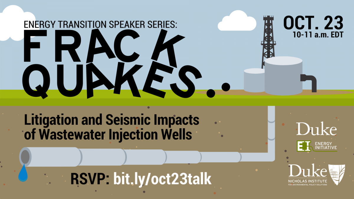 Frackquakes: Litigation and Seismic Impact of Wastewater Injection Wells