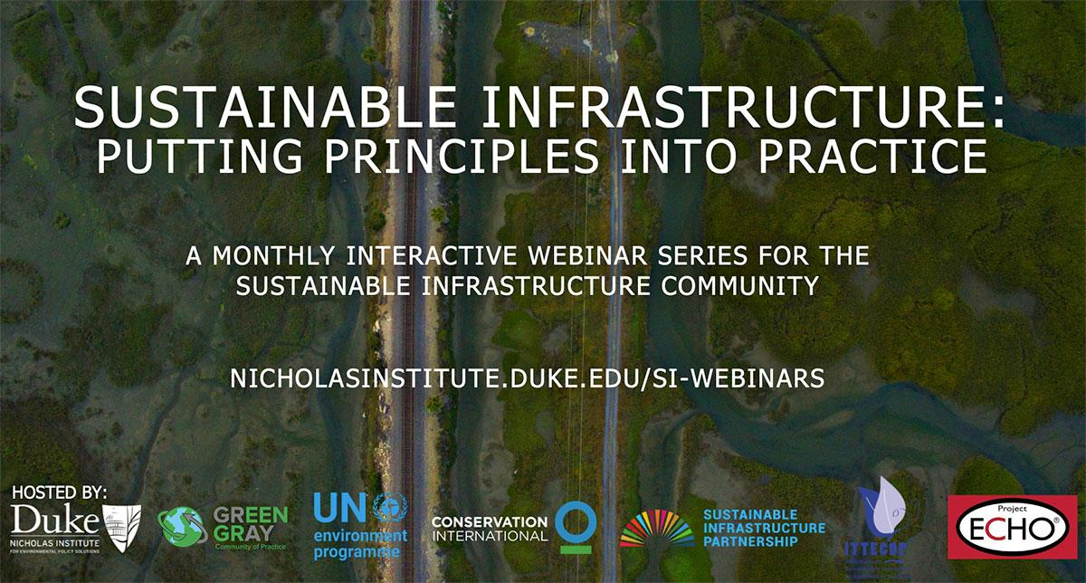 Sustainable Infrastructure: Resource Efficiency and Circularity (Principle #5)